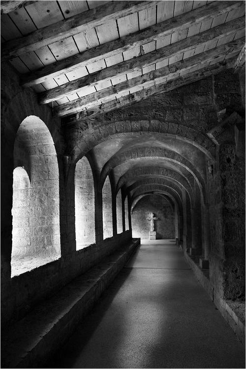 Cloître de l'Abbaye de Gellone