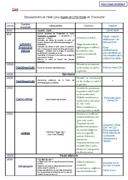 Rallye lien (le cahier journal) : Modèle Cahier Journal ZIL