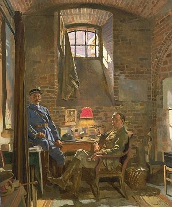 Sir William Orpen , Cellar, Amiens