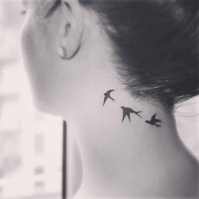 Les Oiseaux Dans Le Tatouage Blog D Une Nana Utopiste