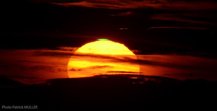 Lever de Soleil du 16 Aout 2015