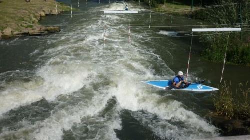 Kayak au Saulcy (9 juillet 2011)