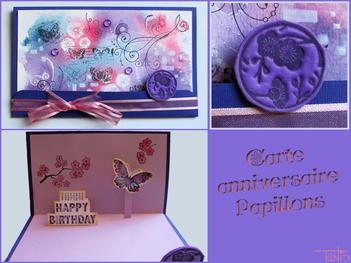 Cartes d'anniversaire des Pitchouns