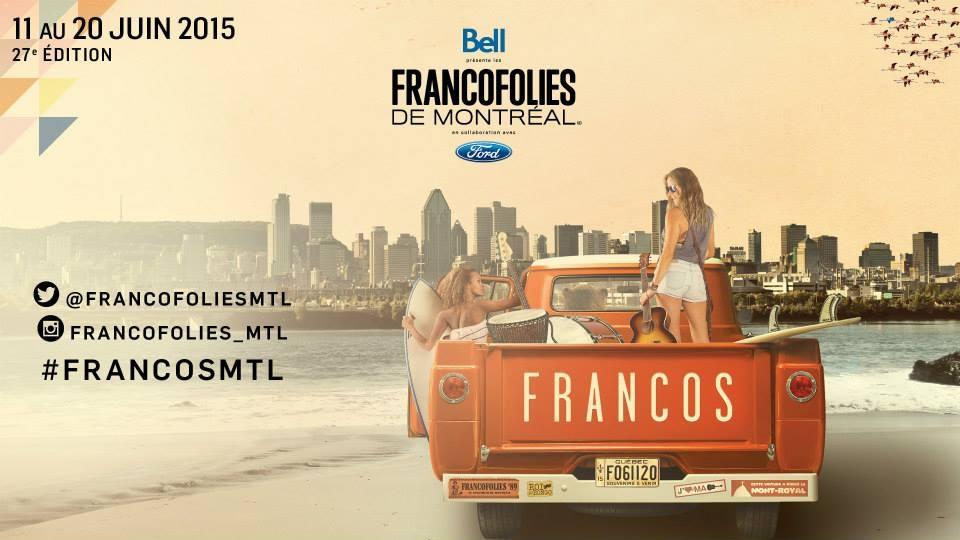 Francolies Montréal 2015