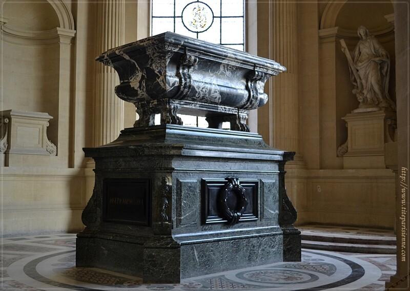 Les Invalides : Les tombeaux de Joseph Bonaparte et de Jérôme Bonaparte