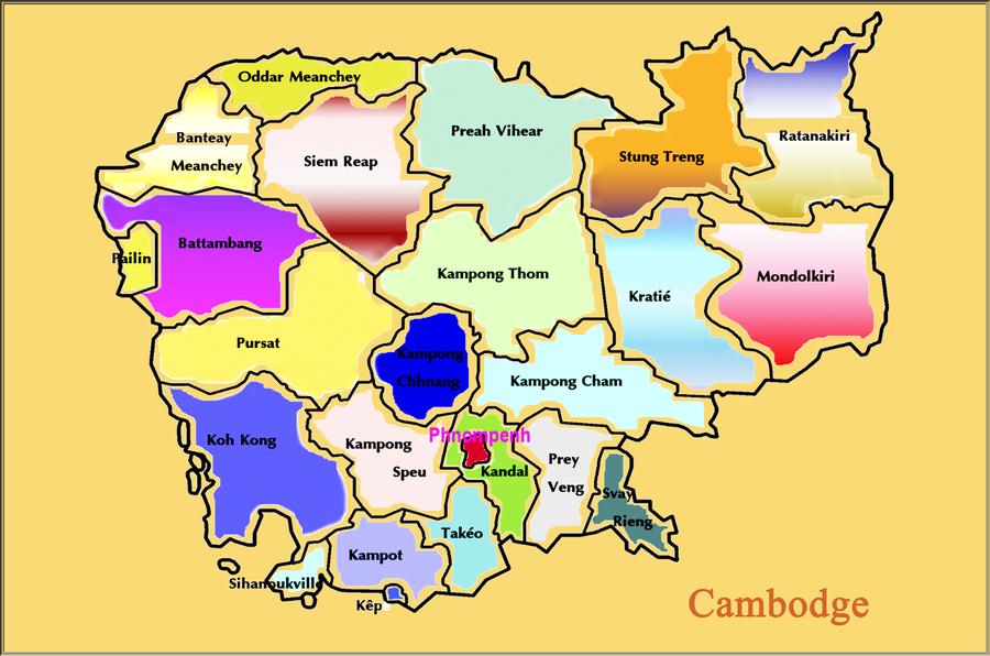 « Le Cambodge – 1968-1970  »