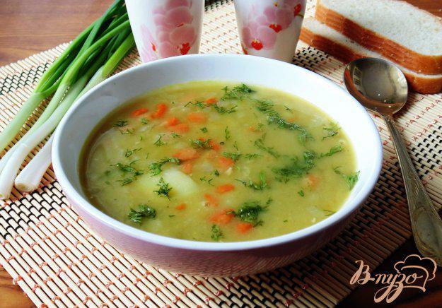 Суп из сухого гороха для диабетика