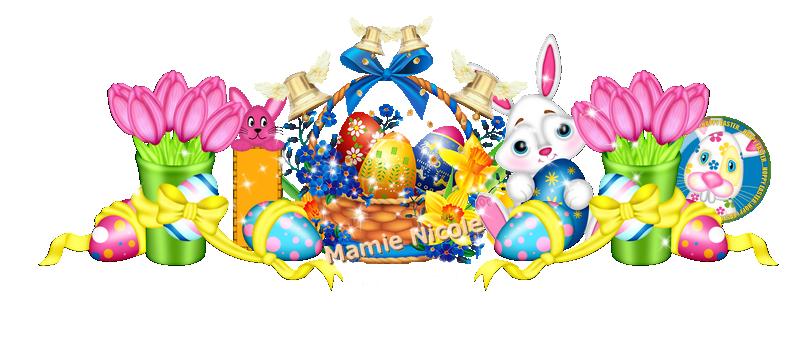 ♥♥ Joyeuses Pâques à toutes et tous avec créations pour Jopel et Manik ♥♥