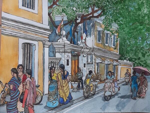 Dimanche - Pondichéry suite et fin