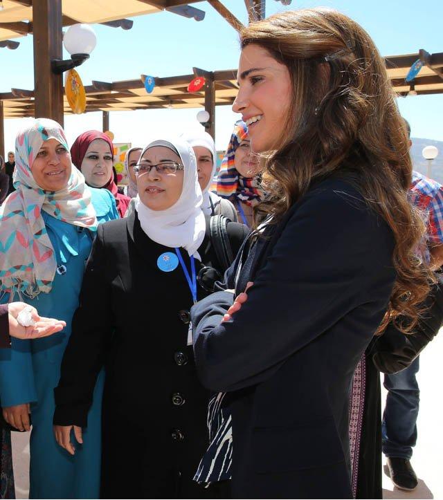 Rania et les professeurs