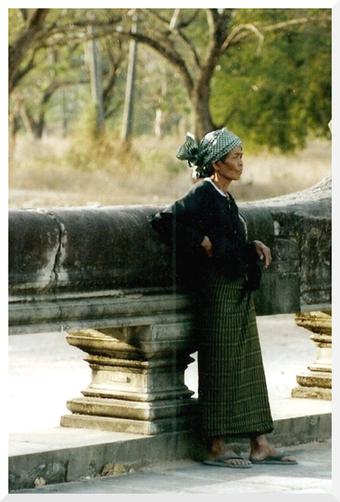 Voyage au Cambodge en 1993. Siem Reap