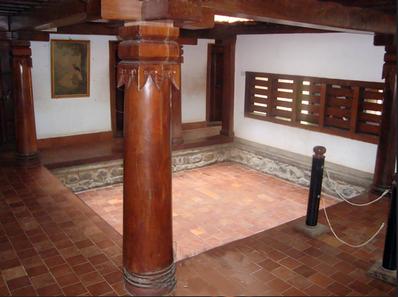 Naalukettu, principe d'architecture de maisons d'Inde du Sud , Kerala