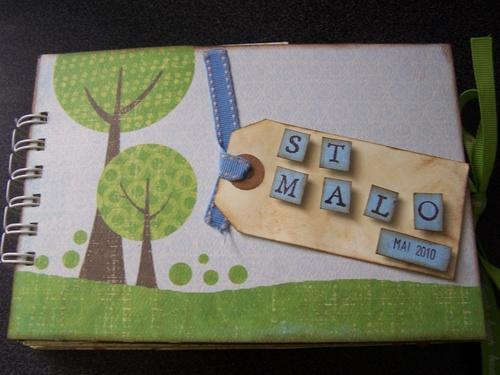 Mini album carnet ST MALO