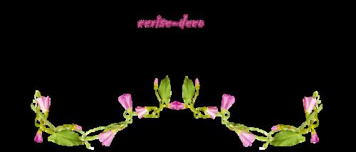 encore dans les tons de rose : design liseron