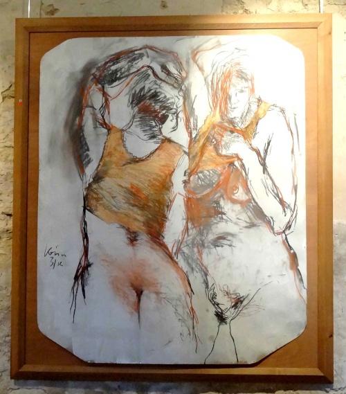 """""""Envie de couleurs"""" la nouvelle exposition de Karin Neumann à Nesle..."""