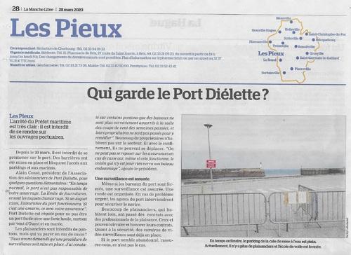 Qui garde Port Diélette ?