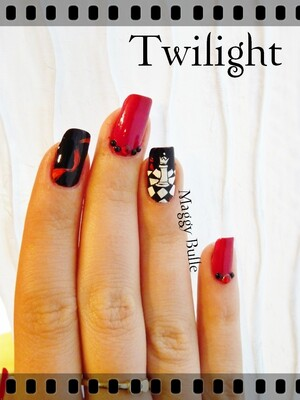 Sunday Nail battle - Twilight