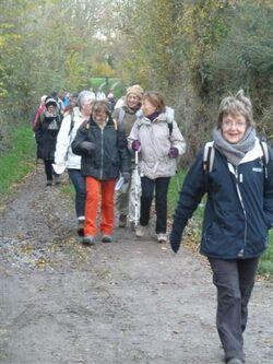 La randonnée du 1er décembre à Hermanville-sur-Mer