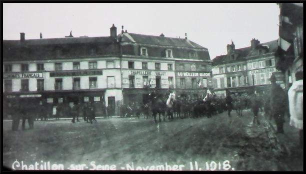"""""""Les Américains dans le Châtillonnais"""", une conférence de Jean Millot , de l'association Images en Châtillonnais"""