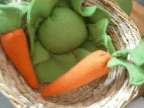 les légumes en polaire