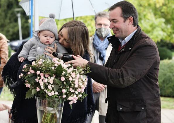 """Inauguration d'une rose """"Prince Charles du Luxembourg"""""""
