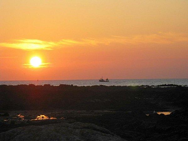 Coucher de soleil au Croisic -08-09-08