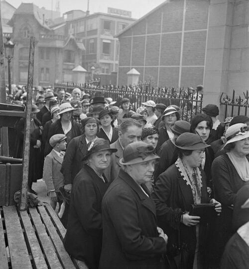 Paris. Reportage sur les Antoinistes - Fonds Marcel Cerf-1935-1936 #10