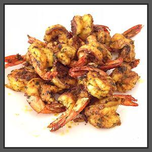 Crevettes à l'asiatique, divines