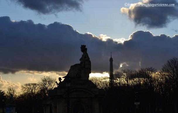 25 février 2012 La tour Eiffel place de la Concorde 1