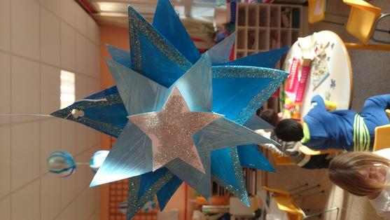 étoiles de Noël en 3D :