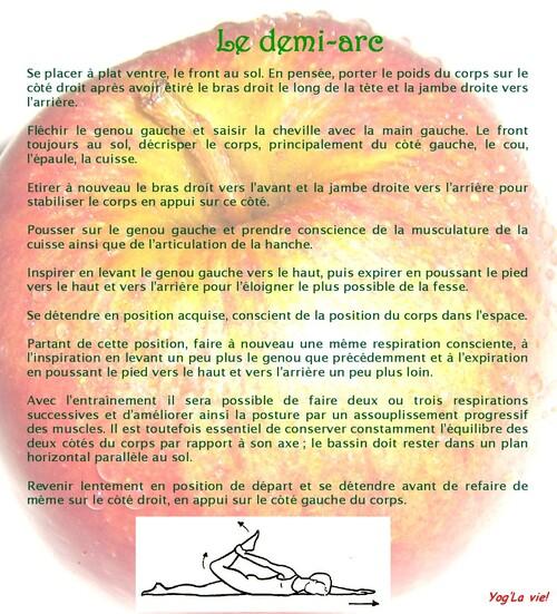 Séances goût pomme