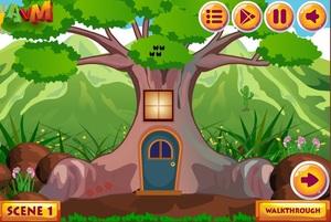 Jouer à AVM Escape the forest door