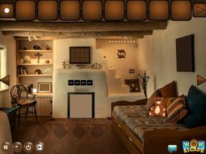 Jouer à Modern clay house escape