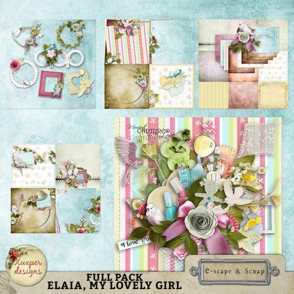 """""""Elaia, my lovely girl"""" de Xuxper Designs"""
