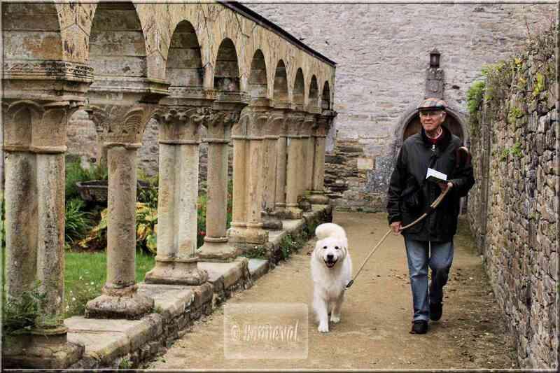 BRETAGNE Abbaye de Daoulas Finistère