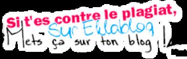 Contre le plagiat sur Eklablog