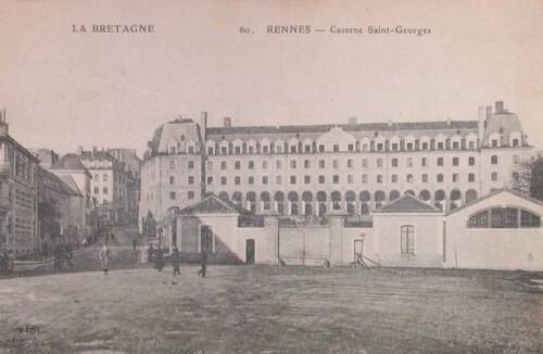 Caserne Saint Georges à Rennes