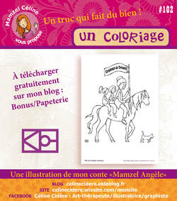 PAPETERIE ANGÈLE / COLORIAGE
