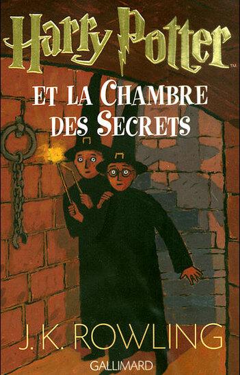 Livre 2 - Harry Potter et la chambre des secrets