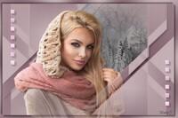 LadyJ képe, téli mosoly