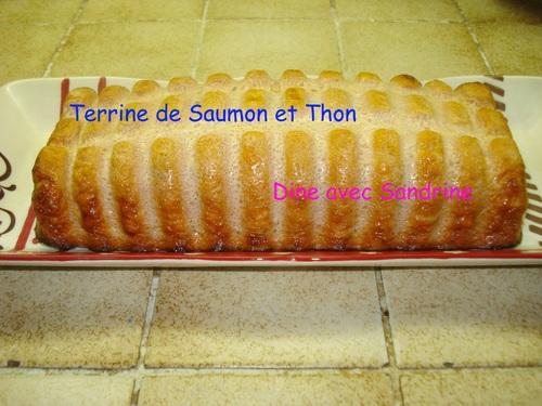Une Terrine de Saumon et Thon à la Tomate