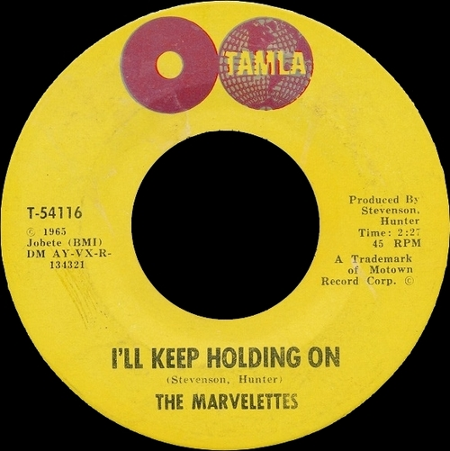 "The Marvelettes : Album "" The Marvelettes "" Tamla Records TS 274  [ US ]"