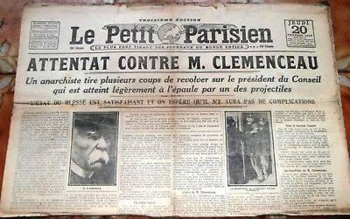 Notes de lecture sur Georges Clémenceau par Robert Fries
