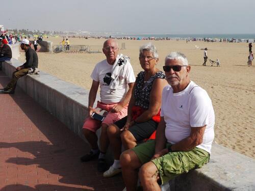Des touristes européens