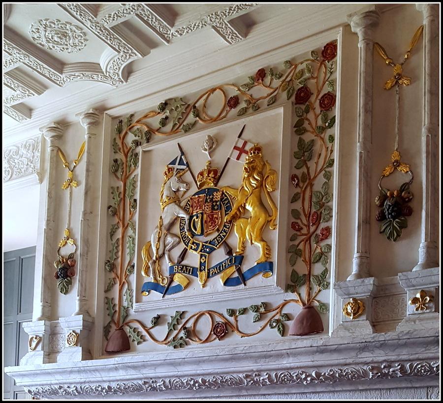 Voyage en Ecosse : Edimbourg 4 : L'intérieur du château.