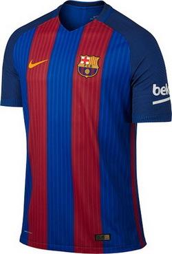 Nouveau maillot Barcelone 2017 Domicile