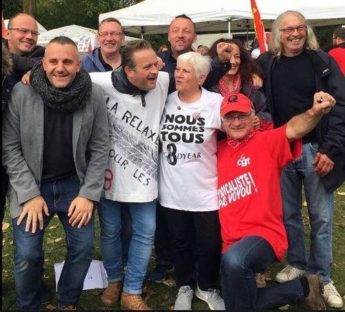 Solidarité avec les Goodyears : les militants communistes du PRCF présents le 19 octobre à Amiens ! (IC.fr-22/10/2016)