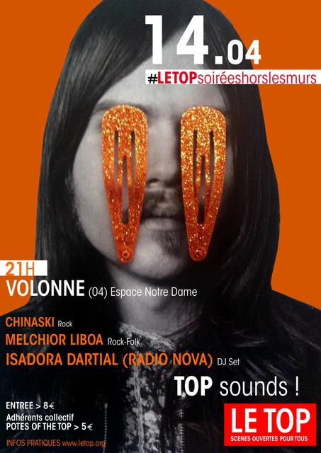 *Concert à Volonne en soutient de la réhabilitation du cinéma Le top à DIGNE