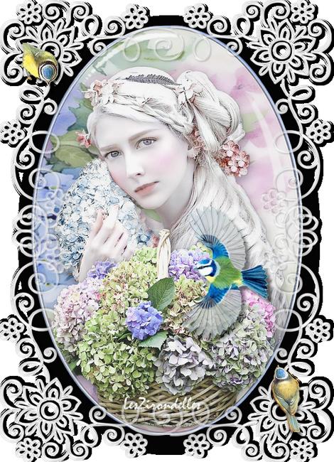 Décos, hortensias