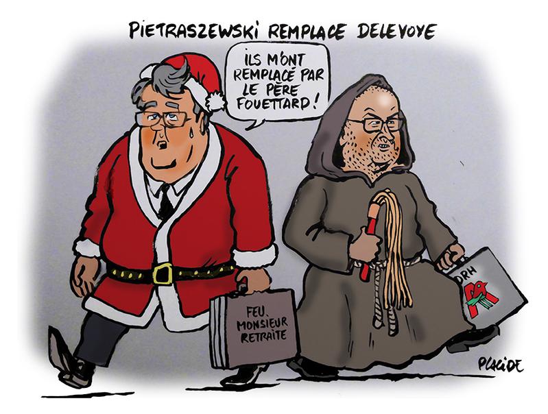 Pietraszewski remplace Delevoie